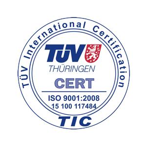 TÜV Thüringen ISO 9001